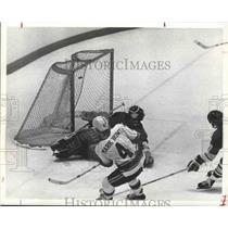 1974 Press Photo Hockey's Houston Areros' rookie - hca01026