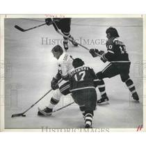 1978 Press Photo Houston Areros Gordie Howe, Hockey - hca01030