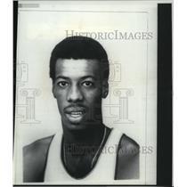 1975 Press Photo Boston Celtics basketball player, Charlie Scott - sps14275