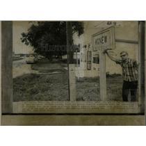 1968 Press Photo Kenny Dudek Agnew Nebraska Resident - RRX75987