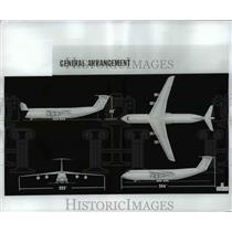 1966 Press Photo Lockheed 500 Largest Commercial Aircraft in the World