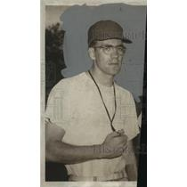 1958 Press Photo Alabama-West's football John Lee Armstrong. - abns01305
