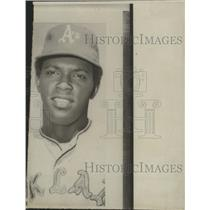 1971 Press Photo Oakland A's pitcher, Vida Blue. - abns01522