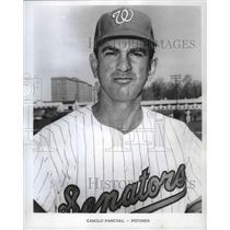 1969 Press Photo 14-Year Veteran Camilo Pascual, Washington Senators' Pitcher