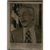 1974 Press Photo Pennsylvania Governor Ernest Kline - RRX34693