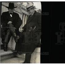 1935 Press Photo Washington DC Oklahoman Robot Pair - RRW78715