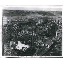 1960 Press Photo Ruhrstahl AG plant in West Germany