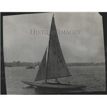 "1929 Press Photo C.A. Welch's ""Yankee"" at the International Yacht Race"