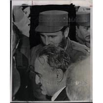 1960 Press Photo Cuban Premier Fidel Castro - RRW21205