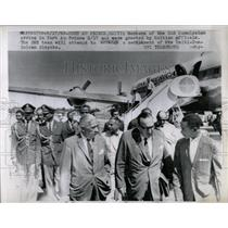 1963 Press Photo Members Of The OAS Commission Arrive - RRW59013