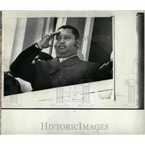 1971 Press Photo Jean Claude Duvalier Haiti Politician - RRW83797