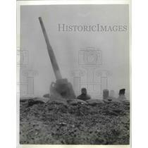 1942 Press Photo Gas demonstration carried out at Fort Monroe, Virginia