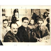 1936 Press Photo Francisco Mujica Mexico's Communist at gathering - sbx08713