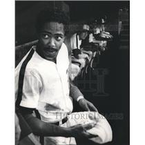1982 Press Photo Alabama-Baseball-Birmingham Barons' center fielder Ray Hampton.