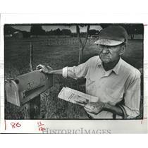1980 Press Photo John Moler, Sealy Texas - hca03897