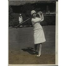1927 Press Photo Peggy Wattles at 31st annual Women's US Golf in NY - nes54380