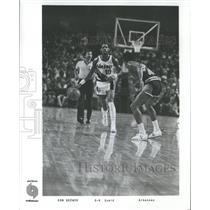 1979 Press Photo Basketball - Portland Trail Blazers Guard Ron Brewer