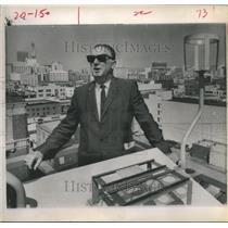 1970 Press Photo Louis J. Fuller, Los Angeles Smog-Control, Air Pollution