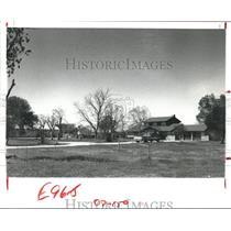 1980 Press Photo Alta Loma, Texas, Future Home of Regional Mental Heath Center