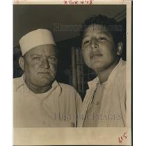 1959 Press Photo Portraits, Alvin, Texas - hca05324