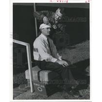 1958 Press Photo First Aid training, American Red Cross, Houston - hca05370