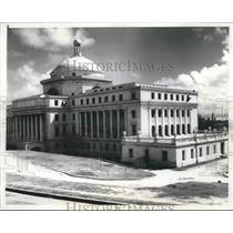 1930 Press Photo Capitol building in San Juan, Puerto Rico - mjx38025