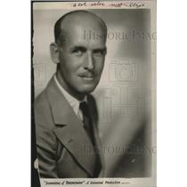 "1929 Press Photo James Gleason, Actor, ""Shannons of Broadway"" - mjx38580"
