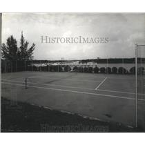 1982 Press Photo Other Shore Tennis Club, Bahama Islands Ministry of Tourism