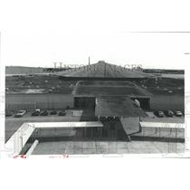1980 Press Photo Roof of the Astrohall in Houston extends over about 18 acres