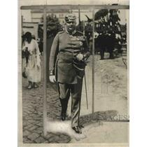 1928 Press Photo Prince Eitel Friedrich, son of former Kaiser Wilhelm, Germany