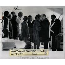 1976 Press Photo President Ford Metro Michigan - RRW00079