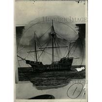 1923 Press Photo Pirates Create Crafts Ship Water - RRW82643