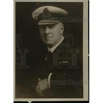 1918 Press Photo Surgeon General Sir W.W. Cheyne of the British Navy