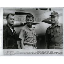 1967 Press Photo Carrier Bon Homme Richard pilots - RRW70691