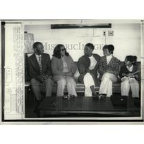 1973 Press Photo Viet Nam POW Johnson Released Four Yrs