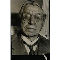 1931 Press Photo Jacob Sechler Coxey Army Washington - RRW78749