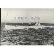 1930 Press Photo Submarine V6 San Francisco Bay Tests - RRX99325