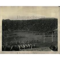 1922 Press Photo Elis Army Battle Tie Yale Bowl Scene - RRX78707
