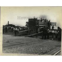 1929 Press Photo Georgia Chariots Wheels State Sells - RRX80433