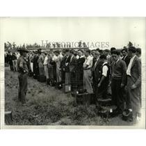 1934 Press Photo CMTC Youths Camp Dix Military Recruits - RRX76479
