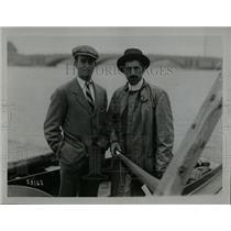 1915 Press Photo Capt Murray Harvard Varsity Coach Wray - RRX69243