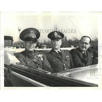 1938 Photo Military Welcome At Capital For Cuban Strong - RRX84551