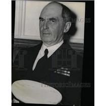 1936 Press Photo Admiral William Leahy Battle Force - RRW79853