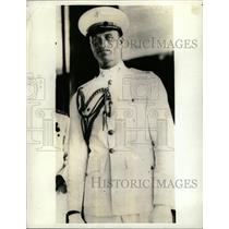 1936 Press Photo James Roosevelt Marine Corps Officer - RRX73853
