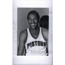1977 Press Photo Detroit Pistons player - RRX40039