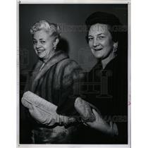 1960 Press Photo Mrs Clark Gittings