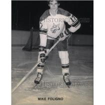 1979 Press Photo Mike Foligno Sudbury Wolves Detroit - RRX40335