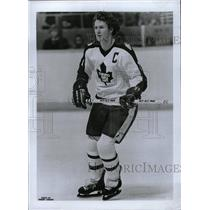 1980 Press Photo Darryl Glen Sittler Toronto Maple Leaf - RRW82493