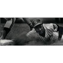 1977 Press Photo Cubs Versus Padres Griffin Clines - RRX43017