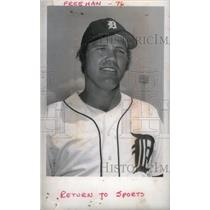 1976 Press Photo Bill Freehan Detroit Tigers Catcher - RRX39955